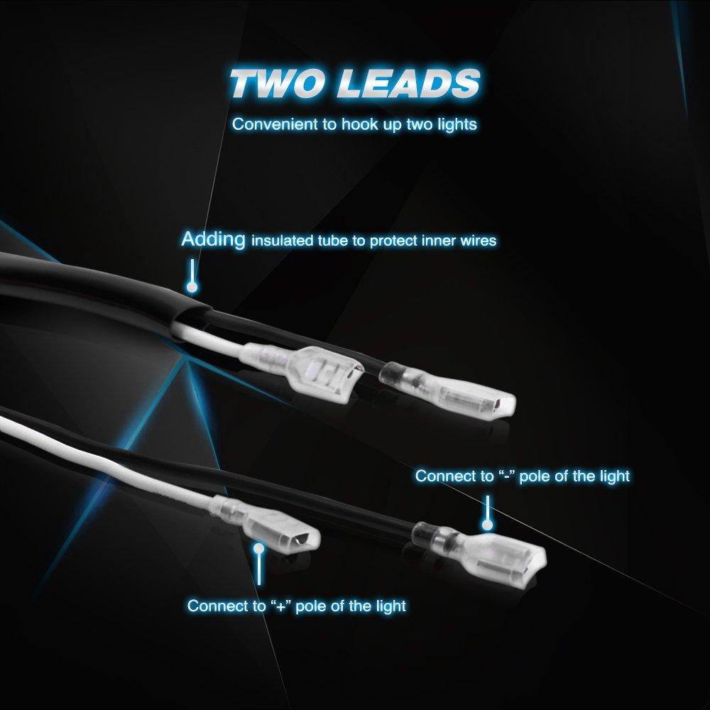 galleon nilight off road led light bar wiring harness. Black Bedroom Furniture Sets. Home Design Ideas