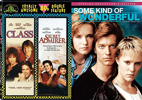 Some Kind of 80's Wonderful Classic Combo Pack: Class & Secret Admirer 3 Movie DVD Some Kind of - Ford Tom Classes
