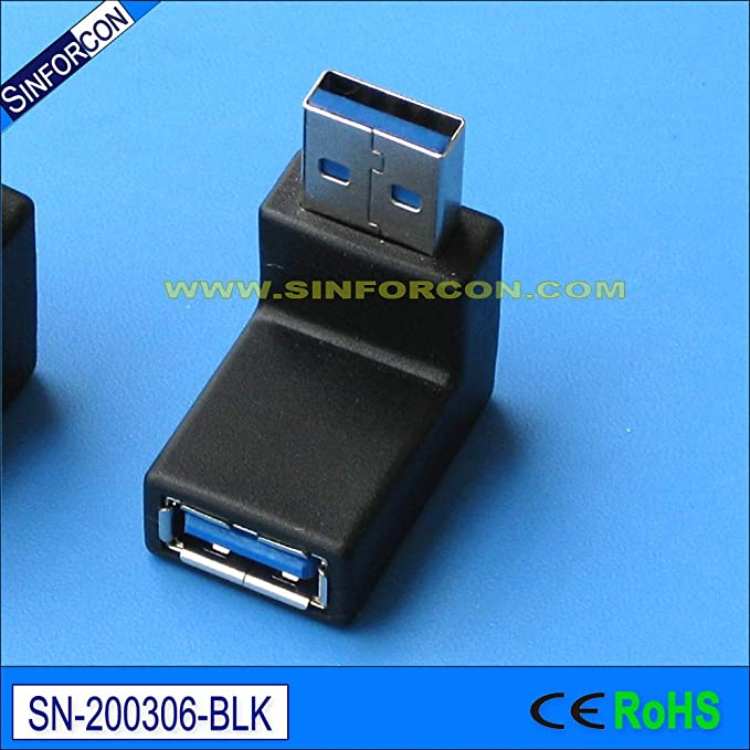 Cable Length: Angle, Color: 100pcs Computer Cables RCA Male to Female M//F Connector Adapter Audio AV Plug 90 Right-Angle Yoton