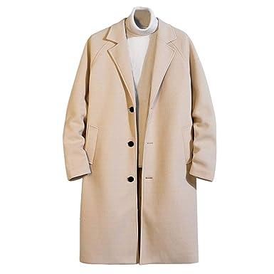 Uomini Autunno Inverno Solido Casuale Moda Cardigan Lana Top