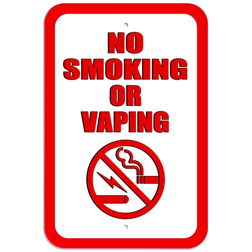 Plástico Señal de prohibido fumar o verytea símbolo ...