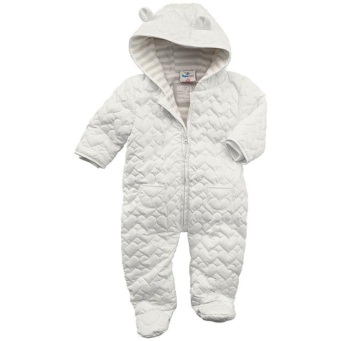 Sortendesign klassisch moderner Stil Newborn-Schneeanzug, weiss, Topomini: Amazon.de: Bekleidung