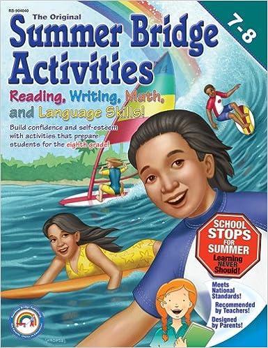 Summer Bridge Activities: 7th to 8th Grades: Leland Graham Ph.D ...
