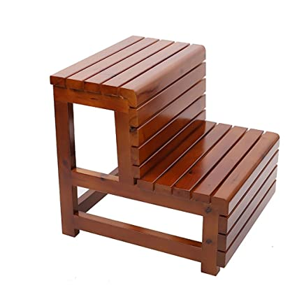 Pleasing Amazon Com Xjrhb Step Stool Bathroom Stool Solid Wood Alphanode Cool Chair Designs And Ideas Alphanodeonline