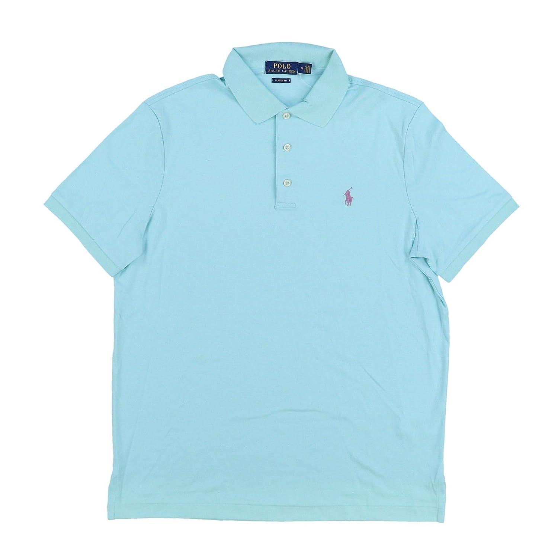 01fc51949b50 Polo Ralph Lauren Mens 3 Button Interlock Polo Shirt (X-Large