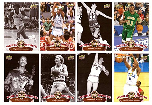 2010 Upper Deck World of Sports - Basketball Players 60 cards
