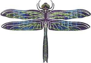 Next Innovations Dragonfly Refraxions 3D Wall Art, Medium, Blue