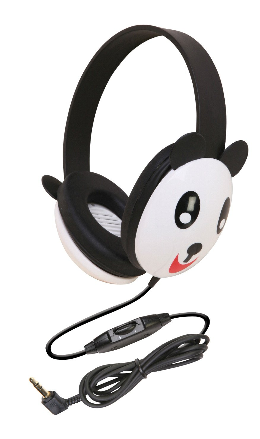 Auriculares Califone 2810-PA Listening First Niños Stereo Panda Design PC y Apple Compatible
