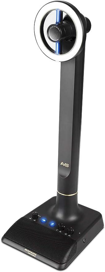 Marantz Professional AVS - Audio Video Streamer Autónomo con Conectividad USB-C, Cámara web Full HD, Micrófono de Condensador USB, Anillo de luz LED Atenuable y Concentrador USB interno: Amazon.es: Electrónica