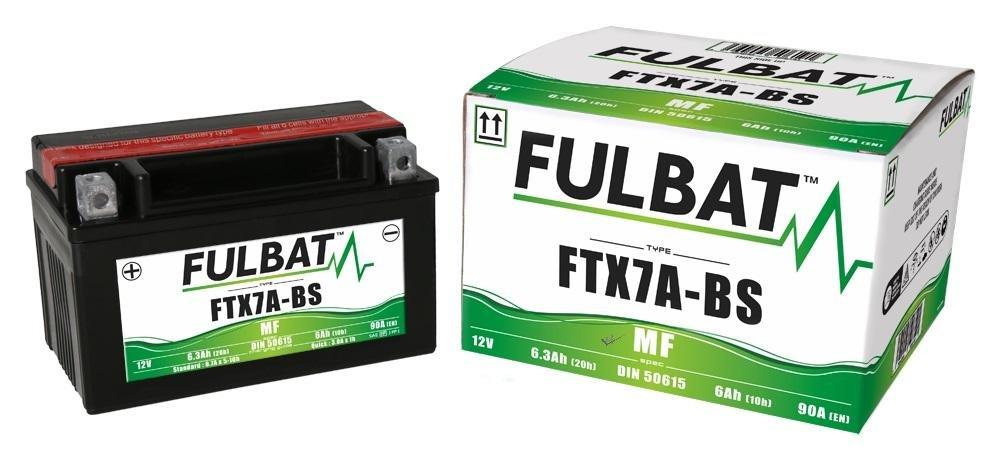 Wartungsfreie AGM MF Fulbat Batterie Motowell Yoyo 50 4T 2010-2017 FTX7A-BS