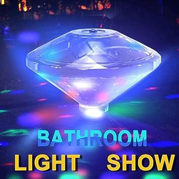 CHINA UK 1pc Underwater Light Show Bathtub Floating Lamp Swimming ...
