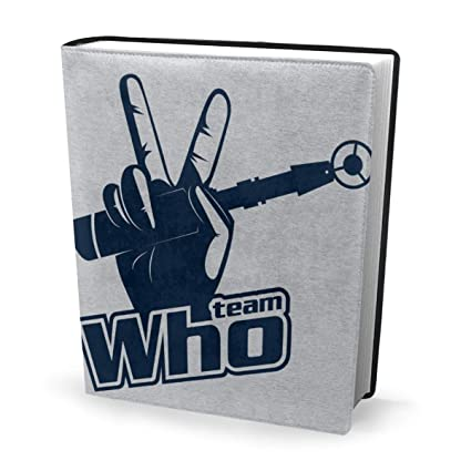 Funda para libro de 9 x 11 pulgadas Team Who Doctor Who ...