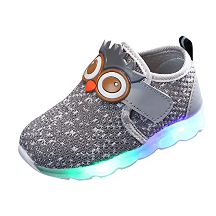 Opticos de Fibra Zapatos, Memefood LED Zapatos 7 Colores 4 Mods ...