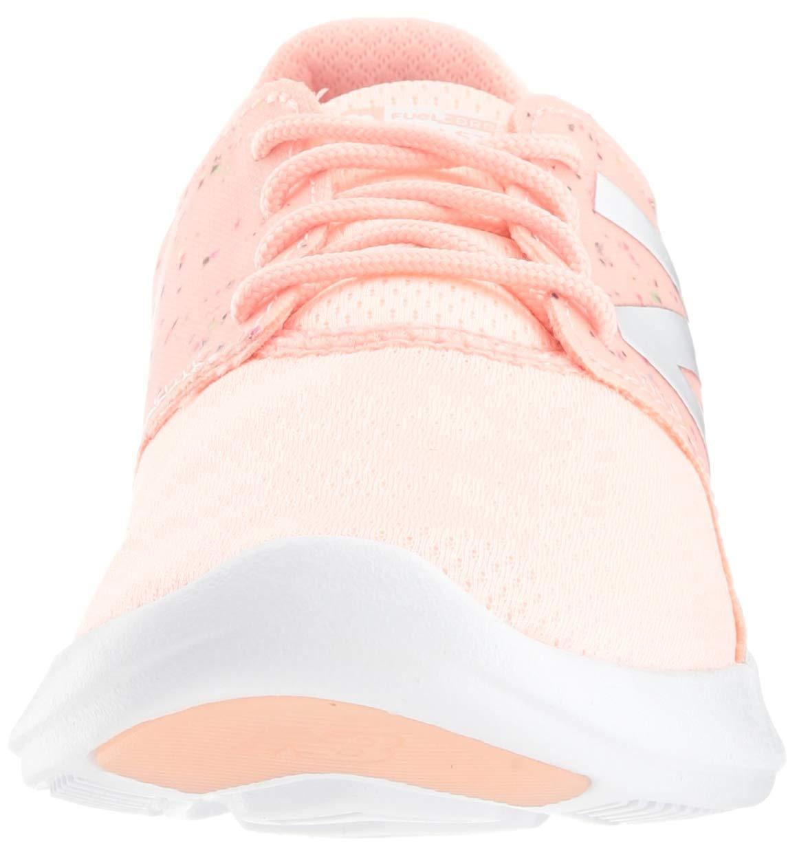 New Balance Girls' Coast V3 FuelCore Running Shoe Himalayan Pink 13 M US Little Kid by New Balance (Image #4)