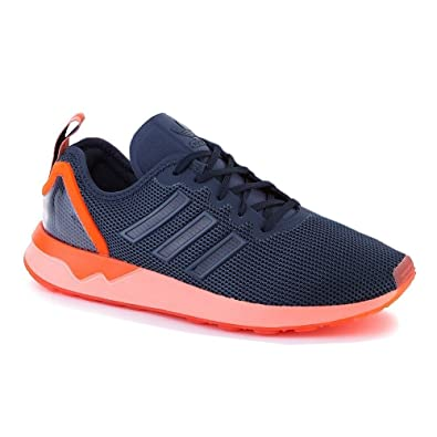 Adidas ZX Flux ADV, Zapatillas de Running Para Hombre, Azul (Mini Blue/Mini Blue/Solar Orangemini Blue/Mini Blue/Solar Orange), 38 EU amazon-shoes Cordones