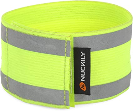 Bike Bicycle Reflective Ankle Leg Bind Trousers Pant Bands Clips Strap Wrap FB