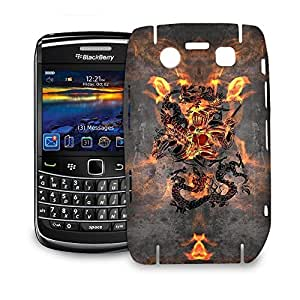 Phone Case For BlackBerry Bold 9700 - Dragon Knight Glossy Lightweight