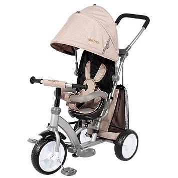 Ricco XG6019 - Cochecito para niños con Pedal de Tela Oxford y Asiento Reversible: Amazon.es: Juguetes y juegos