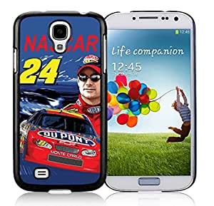 New Unique DIY Antiskid Skin Case For Samsung S4 Jeff Gordon Samsung Galaxy S4 Black Phone Case 201