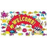 Scholastic Classroom Resources Ocean Welcome Bulletin Board (0545653630)