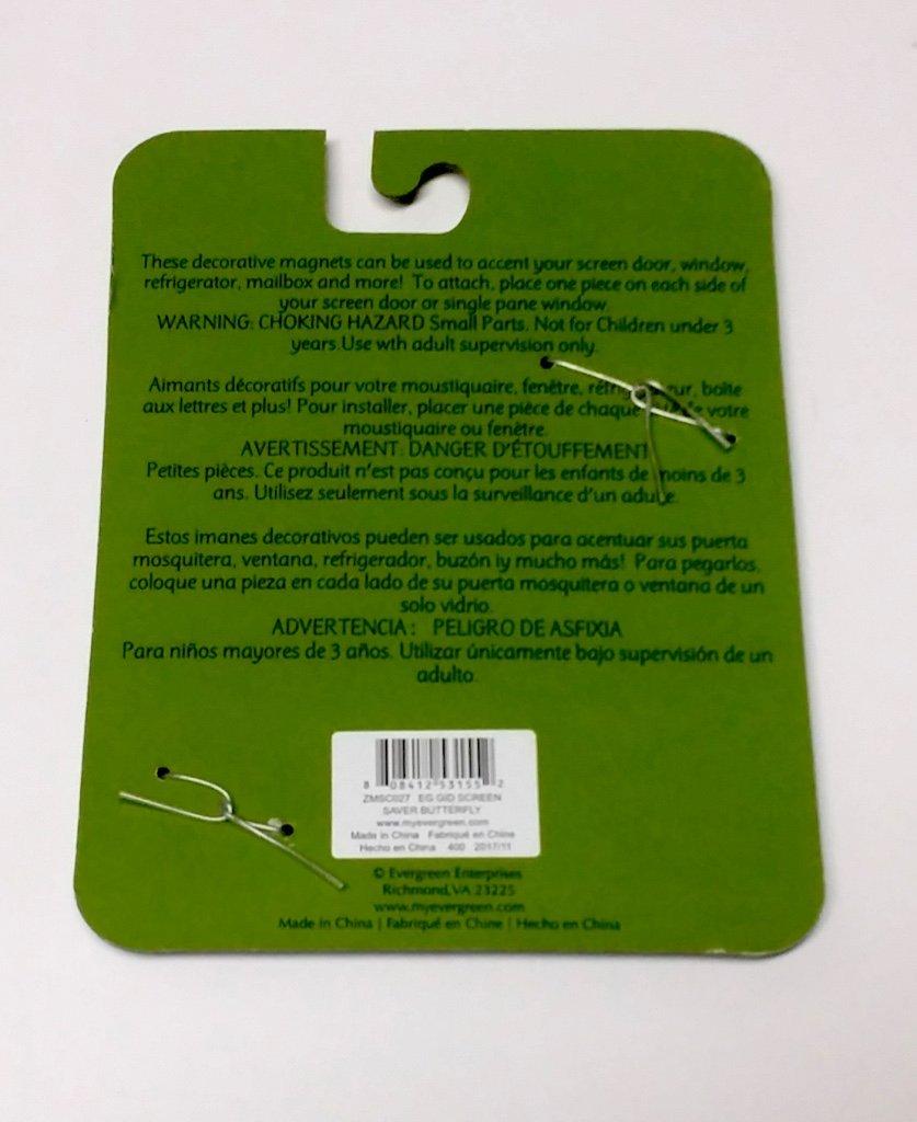 Amazon.com: Happy Butterfly Bronze Metal Magnetic Screen Door And Window  Saver: Kitchen U0026 Dining