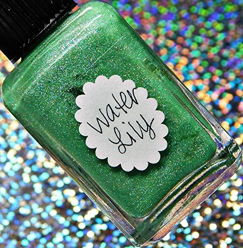 (Lynnderella Limited Edition-Cool Green Shimmerella Nail Polish-Water)