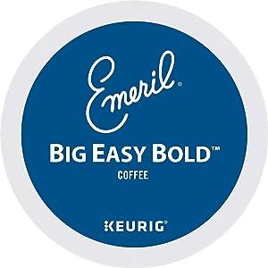 Emeril Big Easy Bold Keurig Single-Serve K-Cup Pods, Dark Roast Coffee, 96 Count