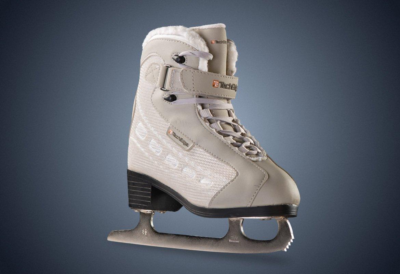 PowerTek V3 Girl's JR Figure Skates, Size JR2