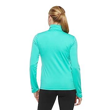 Reebok Damen Trainingsjacke, Aqua, XXS: : Bekleidung