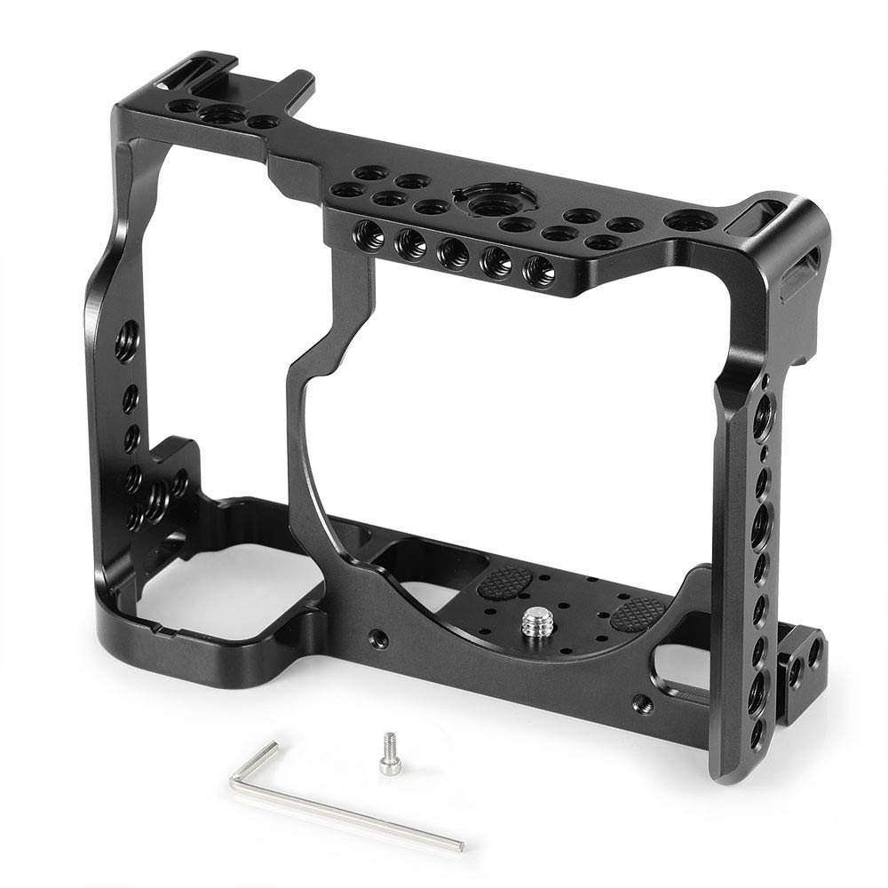 SMALLRIG Camera Cage for Nikon Z6/ Z7 Camera with Built-in NATO Rail and Cold Shoe 2243 by SMALLRIG (Image #2)