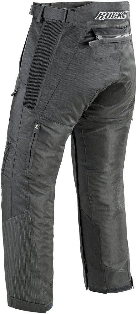 Joe Rocket Mens Ballistic Ultra Textile Motorcycle Pant Black Short XXX-Large