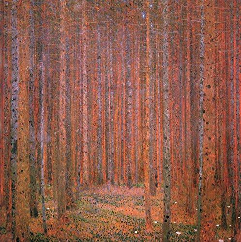 Pine Forest I by Gustav Klimt - Art Print Poster