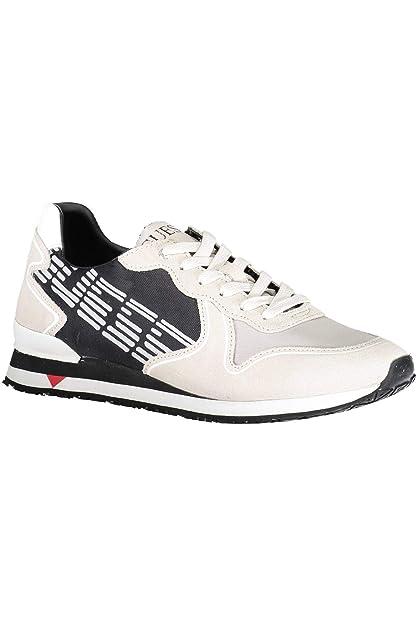 Guess Jeans FM7NGLSUE12 Chaussure Sportif Homme Beige BLKGR