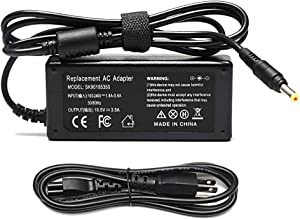 65W 18.5V 3.5A Adapter Laptop Charger for HP Pavilion DV1000 DV1200 DV2000 DV4000 DV5000 DV6000 DV6500 DV6700 DV8000 DV9000 DV9500 X1300;HP COMPAQ 500 510 511 515 520 530 610 Power Cord(4.8mm 1.7mm)