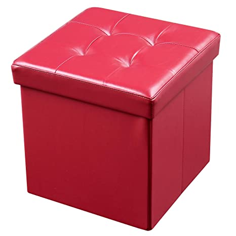 Fabulous Amazon Com Europe Imports Foldable Ottoman Storage Bench By Beatyapartments Chair Design Images Beatyapartmentscom