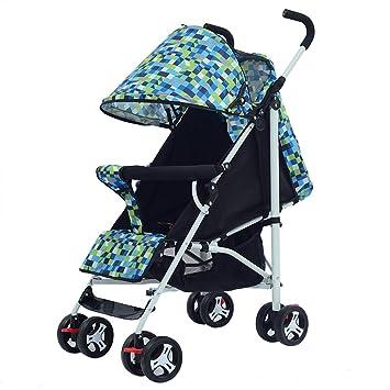 QQB &Carro Plegable Carro de niños del Mini Paraguas del Coche de ...