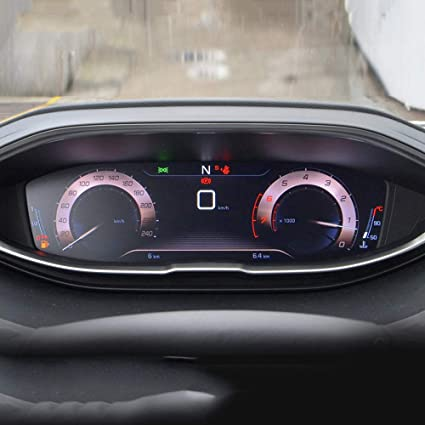 Fangpan Pour Peugeot 3008 5008 Tableau De Bord De Voiture Ecran En Verre Trempe Protecteur Clear Center Film Interieur Accessoires Amazon Fr Sports Et Loisirs