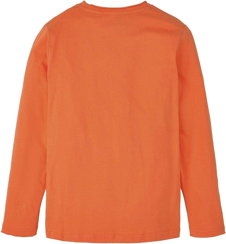 TOM TAILOR Jungen T-Shirts//Tops Langarmshirt mit Foto-Print