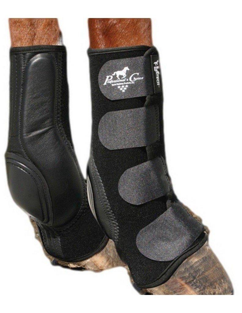 Professionals Choice VenTECH Slide-Tec Standard Skid Boots - Size:Horse Color:Bl