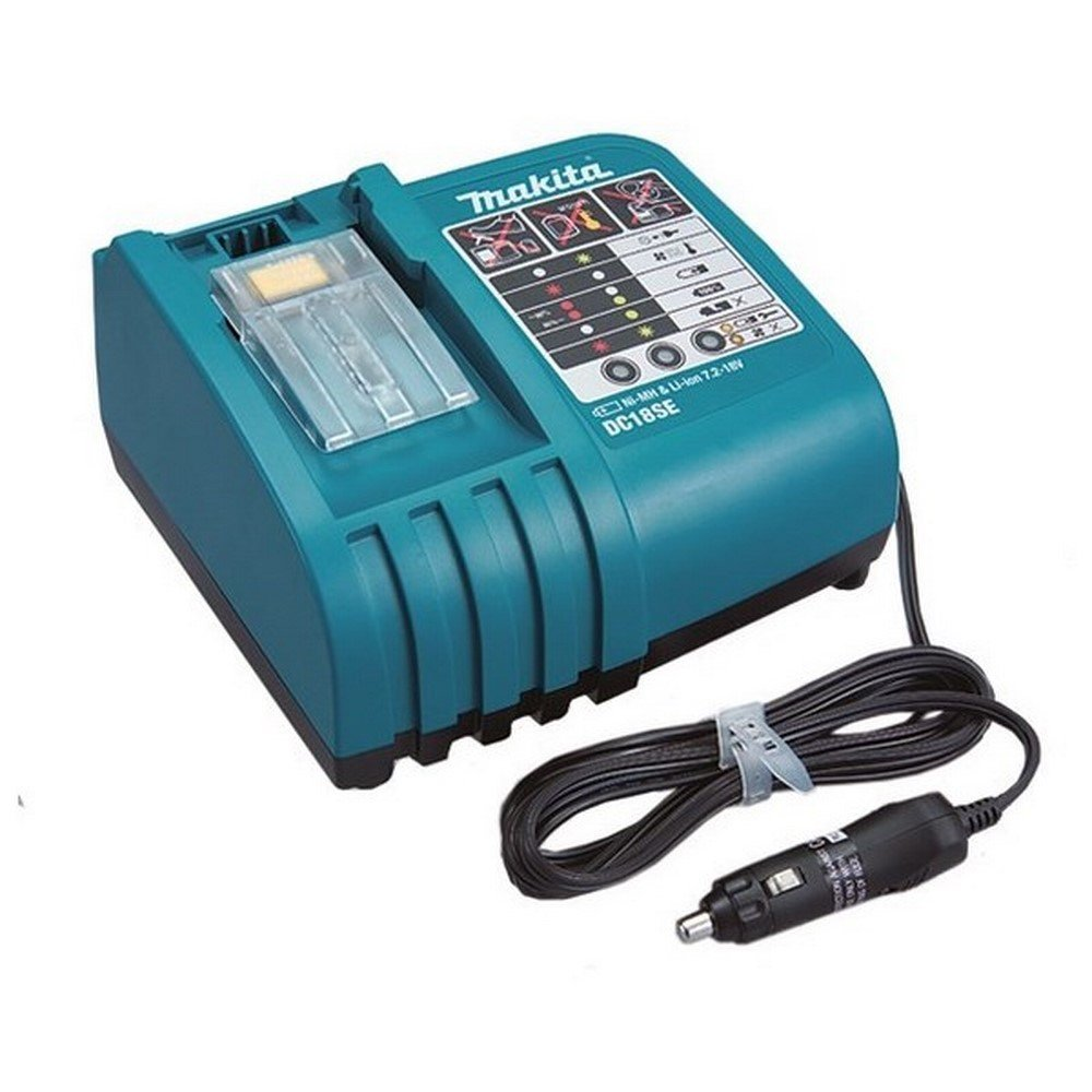 Makita Dc18se 18 Volt Lithium Ion Nickel Metal Hydride Optimum Automotive Charg Ebay