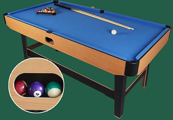 Mesa de billar de 4,1 pies para billar y billar de billar, juego completo de accesorios de juego, mini mesa de piscina interior para niños y adultos, portátil y móvil, juego completo