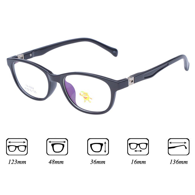 Kinder Brillengestell - TR90 Ultralight - Kinderbrillen Retro ...
