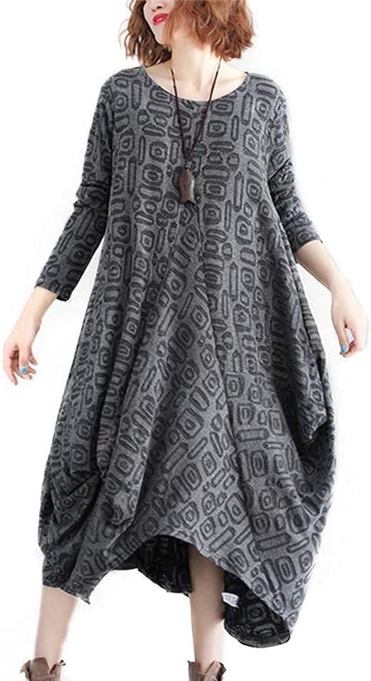 Vestidos Dirndl Para las mujeres Otoño / invierno Estilo coreano ...