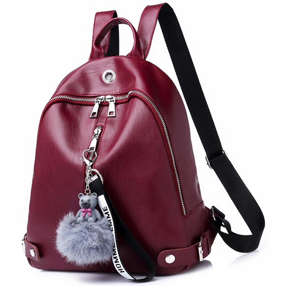 Backpack for Women Waterproof Lightweight Leather Purses Fashion Mini Backpack