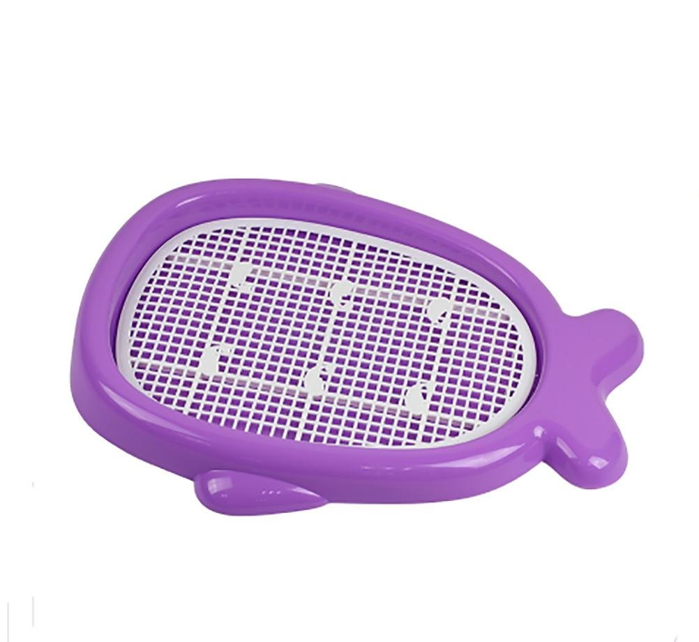 Purple Large purple Large DAN Dog Toilet, Portable Plastic Toilet for Puppy Indoor Dog Toilet for Small Dogs