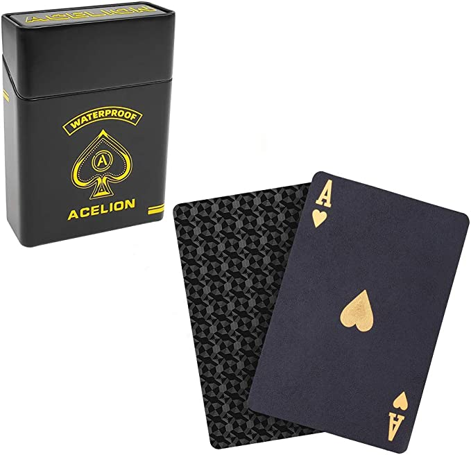 Acelion Playing Cards Halloween Cards 2 Deck Gift Poker Cards Deck of Cards