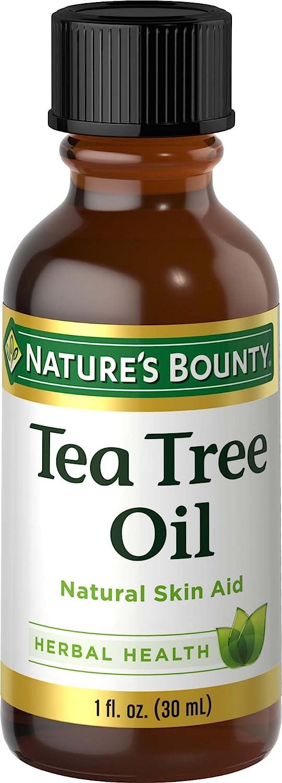 Nature's Bounty Tea Tree Oil Herbal Health Oil, Supports Skin Health, 1 Fl oz