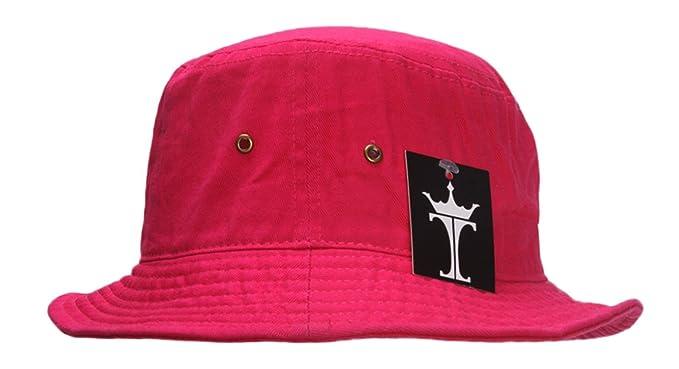 6cd8d6cf TOP HEADWEAR TopHeadwear Blank Bucket Fishing Hat - Hot Pink - Small/Medium