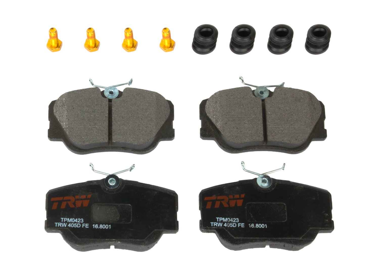 TRW TPM0423 Premium Front Disc Brake Pad Set TRW Automotive