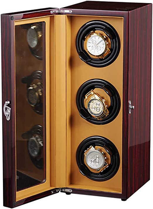 Caja con Movimiento para Relojes automáticos o Rolex, para Cajas de Relojes de tamaño Mediano hasta Grandes, Corriente alterna o Funcionamiento con Pilas, súper silencioso, japonés: Amazon.es: Relojes